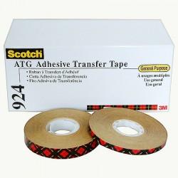 3Μ 924 Scotch® ATG Adhesive Transfer Tape Clear