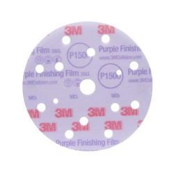 3M™ Hookit™ 260L Purple Finishing Film Abrasive Disc